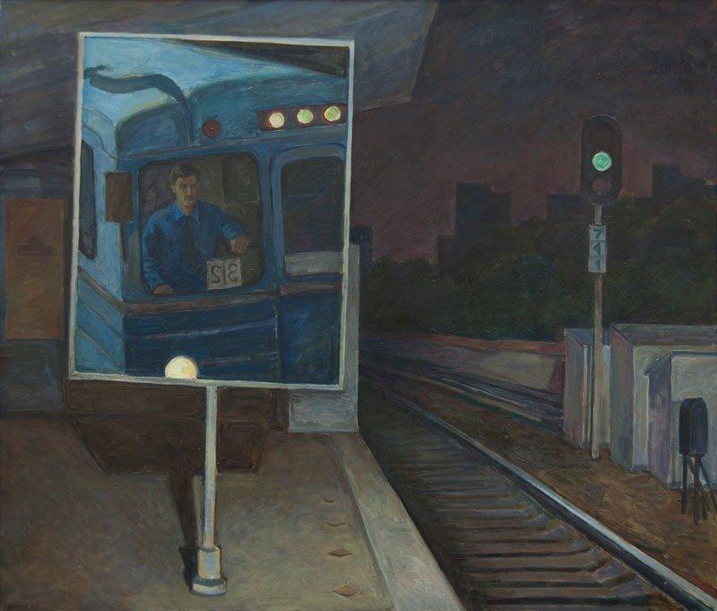 Эти люди видят мир по-своему: взгляд на метро глазами художников (22фото)