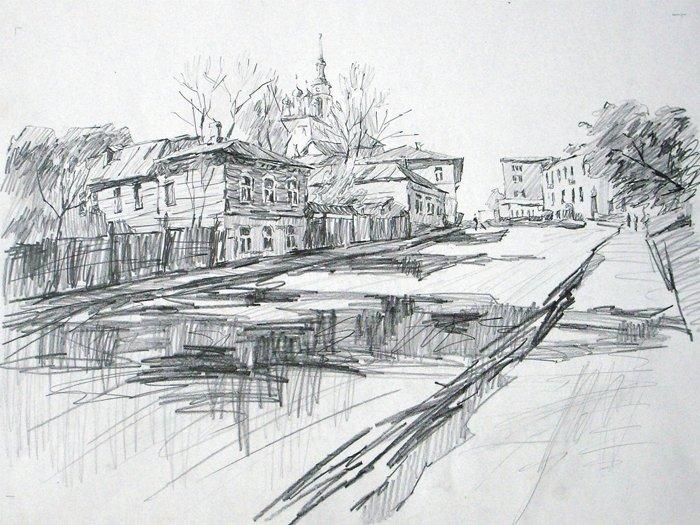 Зарисовки карандашом современного художника (5фото)