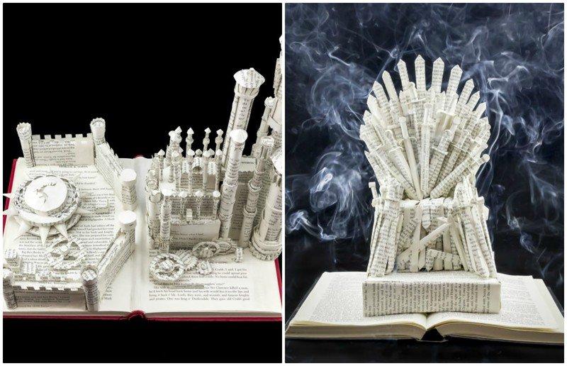 Графический дизайнер мастерит Вестерос из книг