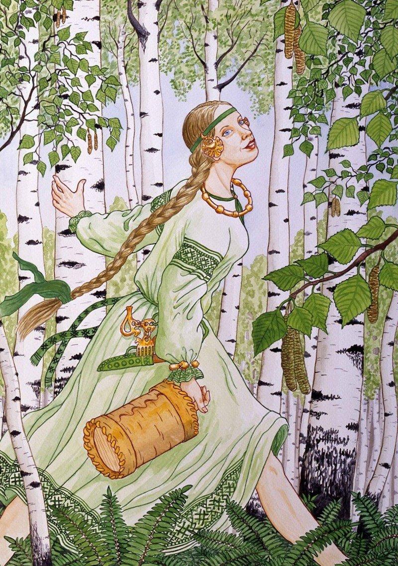 Женский образ в иллюстрациях Николая Фомина (30фото)