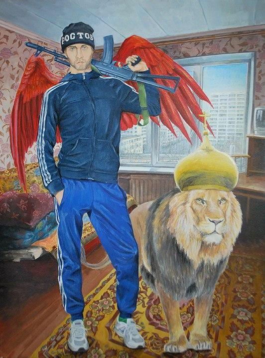 Феерическая фантасмагория ростовского художника (9 фото)