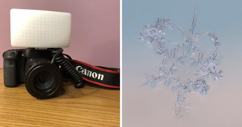 Как сфотографировать снежинку? Фотограф рассказала о секретах макро-фото снежинок (11фото)
