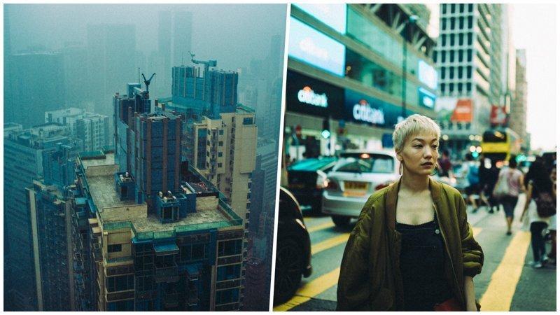 Немецкий стрит-фотограф сделал серию потрясающих снимков футуристических бетонных джунглей Гонконга (21фото)