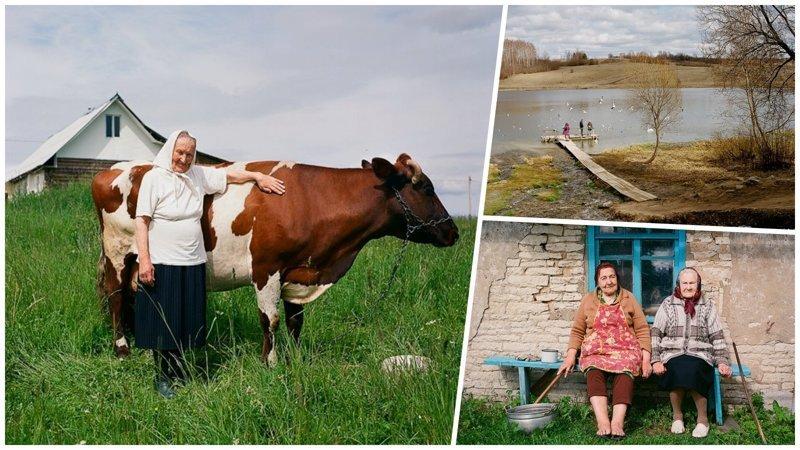 Жизнь простой русской деревни в объективе профессионального фотографа (30фото)