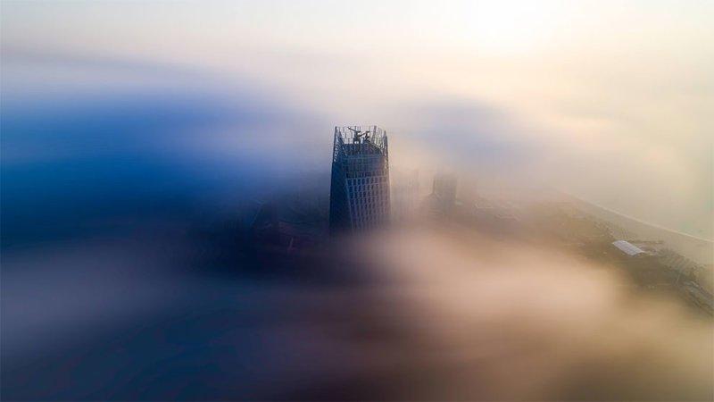 Дубай в облаках: потрясающие снимки одних из самых роскошных небоскребов мира (38фото)