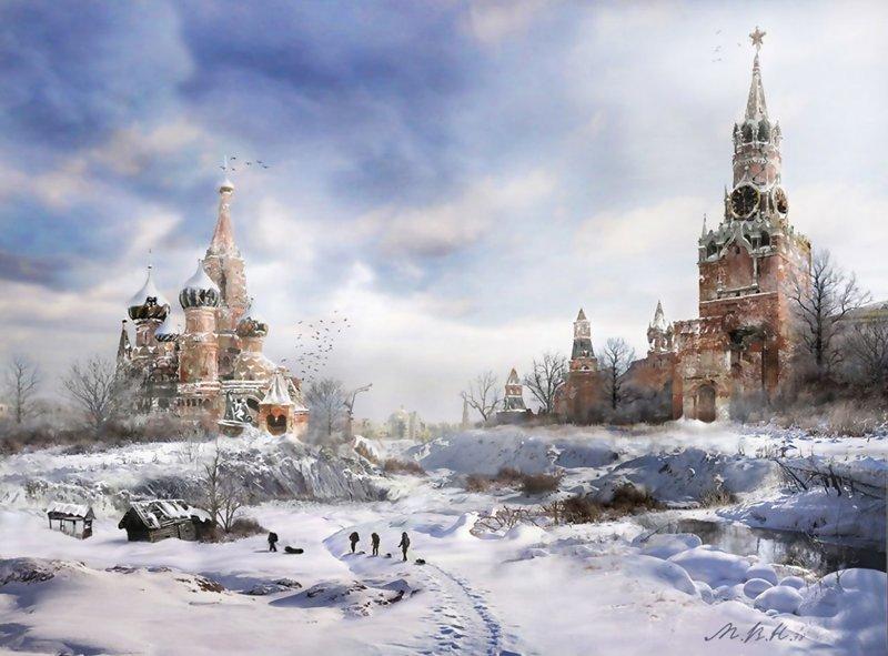 Апокалипсис. Владимир Манюхин (38фото)
