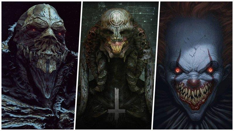 Пост для любителей монстров: 40 кошмарных тварей из параллельных миров (41фото)