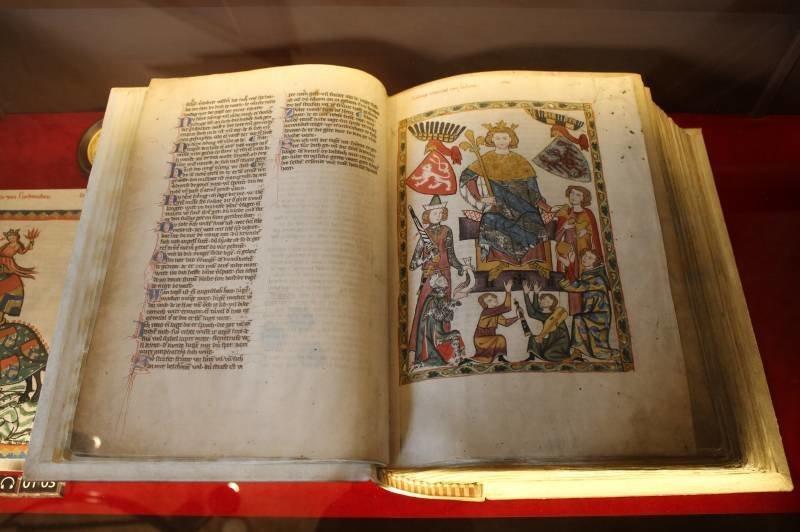 Манесский кодекс – как иллюстративный источник по истории рыцарского снаряжения начала XIV века (20фото)