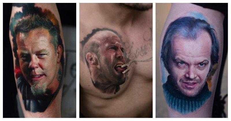 Художник из Польши делает настолько реалистичные тату, что отличить их от фото очень сложно (38фото)