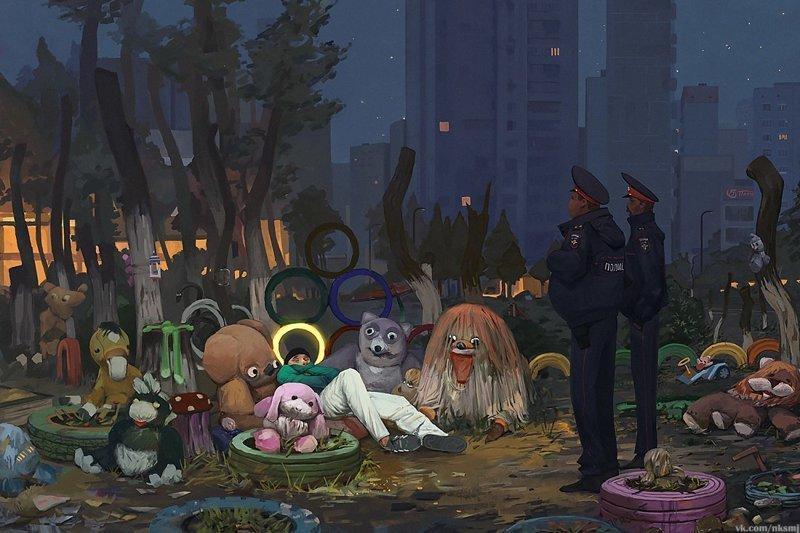 Городские зарисовки, которые вы ещё не видели (21фото)