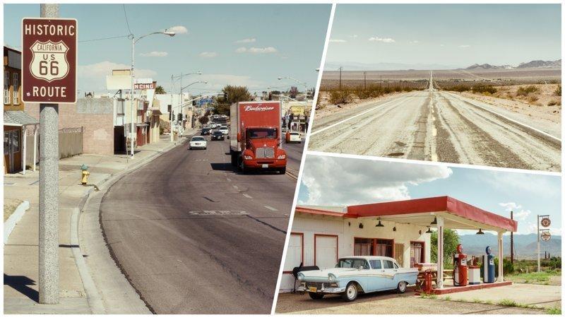 «Мать Дорог» — путешествие по самой знаменитой автостраде в мире (36фото)