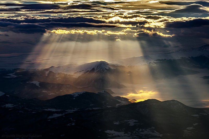 Небо над Тбилиси. Узнаёте? (11фото)