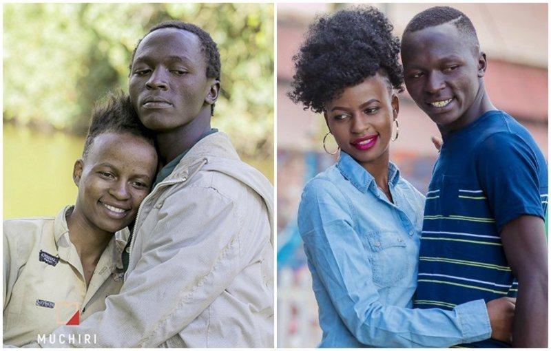 Фотограф из Кении превратил бездомную пару в моделей. Удивительная трансформация! (22фото+1видео)