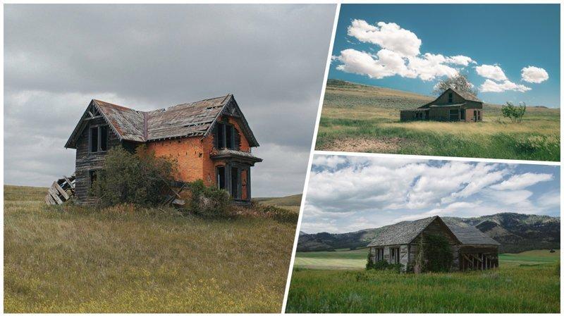Как выглядит одиночество: заброшенные отдалённые места от Северной Америки до Восточной Европы (22фото)