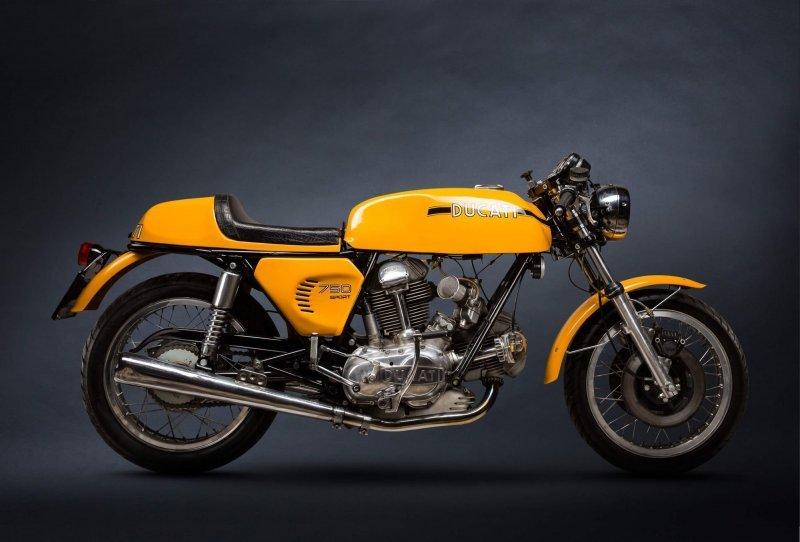 Классические мотоциклы в фотографиях Пола Клифтона (25фото)