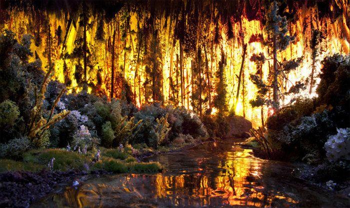Искусство создания лесного пожара: фото Мэтью Альбанезе (4 фото)