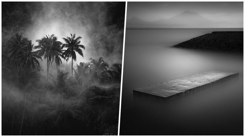 Нуарные снимки от мастера чёрно-белой фотографии (21фото)