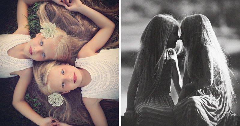 Очаровательные близнецы в фотопроекте