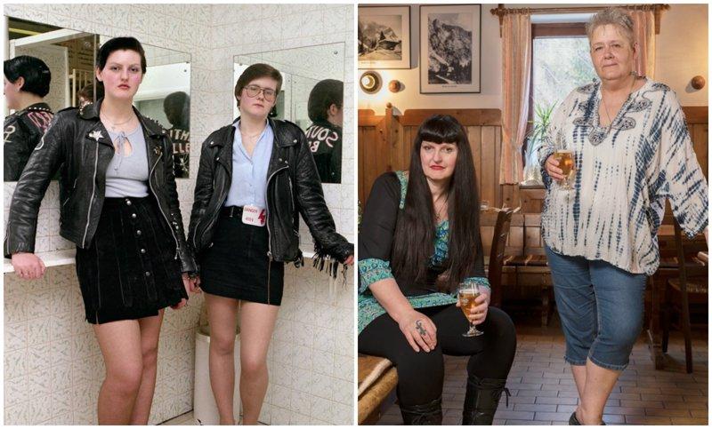 Тогда и сейчас: снимки англичанок-представительниц субкультур с разницей в 30 лет (13фото)