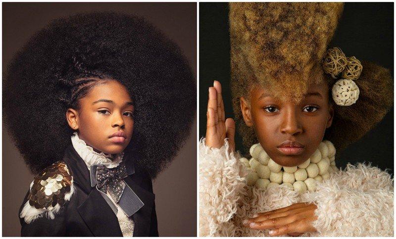 Афро - это стильно: портреты девочек-афроамериканок, поражающие красотой (16фото)