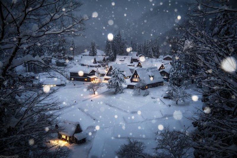 Сказочно красивая зима в Японии (31фото)