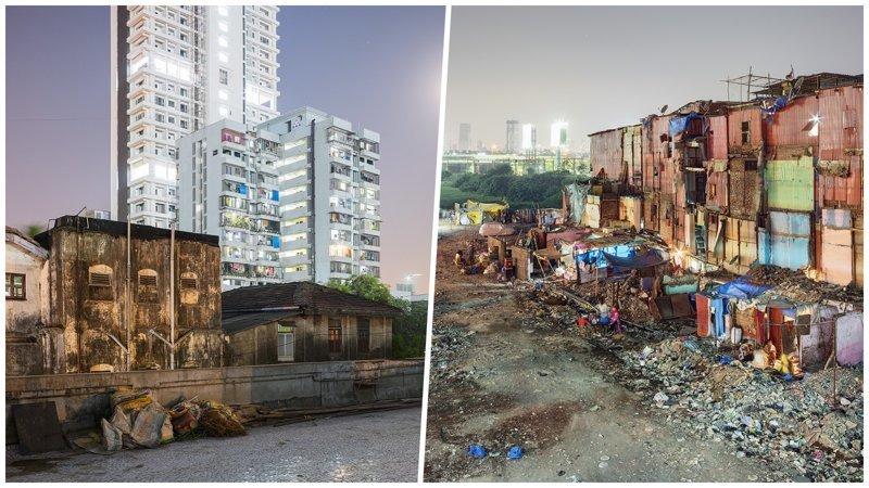 Богатство и нищета Мумбаи в объективе польского фотографа (25фото)