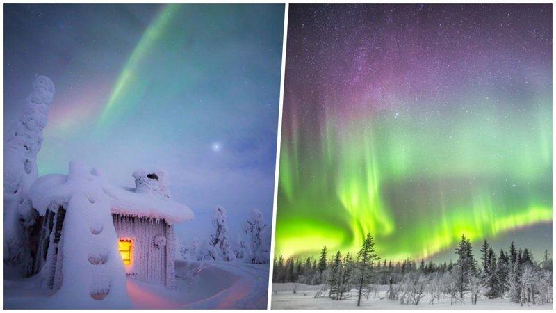 Потрясающие снимки северного сияния и звёздного неба над холодной Финляндией (26фото)