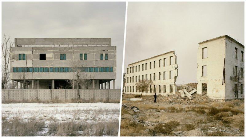 Ядерные руины Казахстана на снимках английского фотографа (23фото)