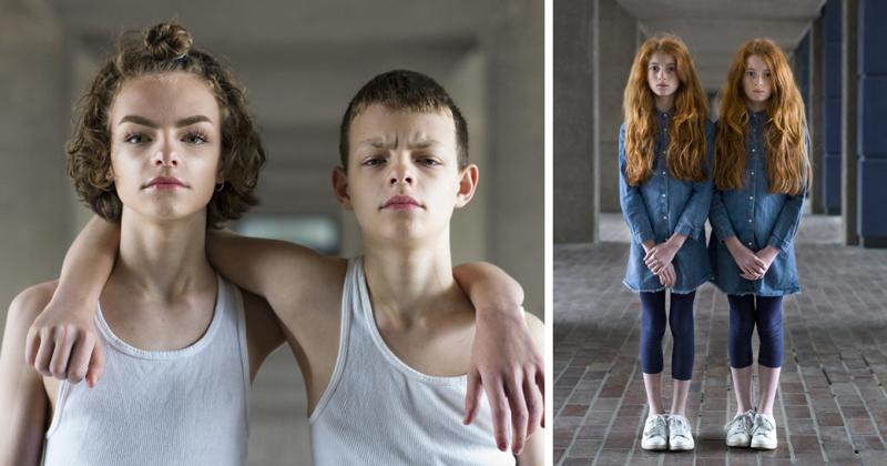Портреты идентичных близнецов, раскрывающие уникальность каждого (28фото)