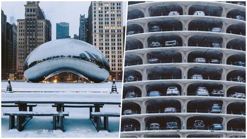 25 городских пейзажей от молодого американского фотографа (25фото)