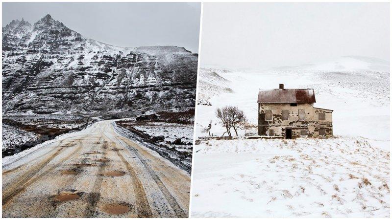 Французский фотограф три года снимал зиму в северной Европе (29фото)