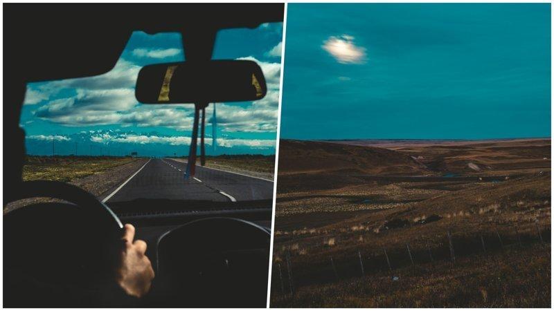 Чёрные пейзажи Патагонии в объективе французского фотографа (21фото)