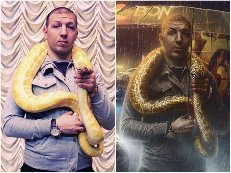 До и после: мастера фотошопа, превращающие обычные фотографии в потрясающие картины (16фото)