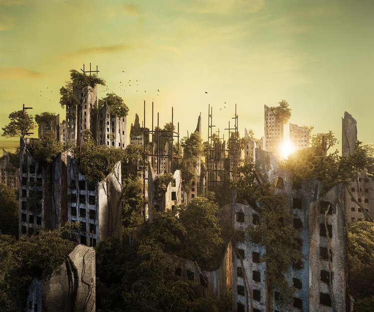 Как бы выглядел наш мир, если бы наступил апокалипсис (8фото)