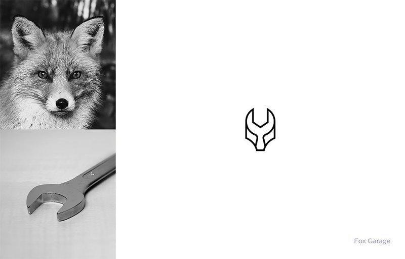 Дизайнер создаёт логотипы брендов, объединяя несколько вещей в одну (13фото)