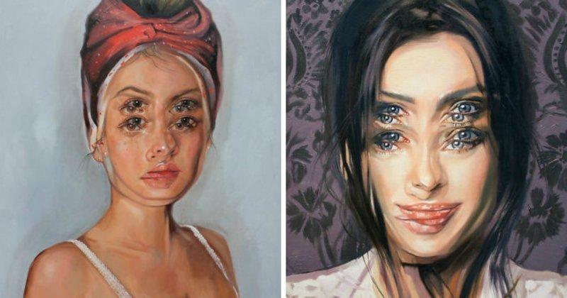 После сердечного приступа художница начала рисовать