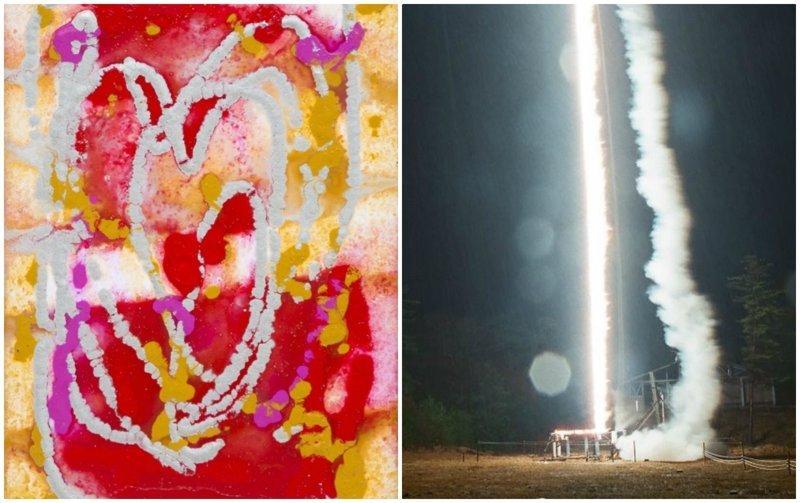 Картины, нарисованные самой природой: японец провёл необычный эксперимент (14фото+1видео)