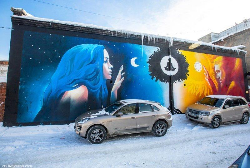 Граффити Новосибирска (14фото)