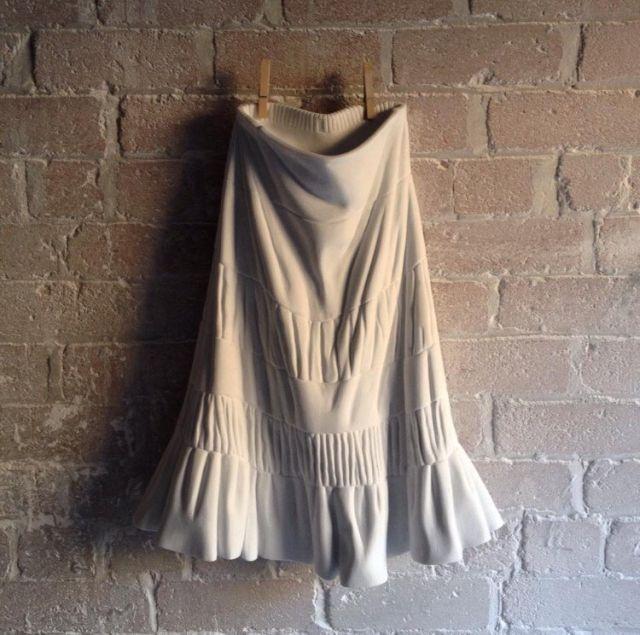 Мраморная одежда и обувь от Аласдаира Томсона (8 фото)