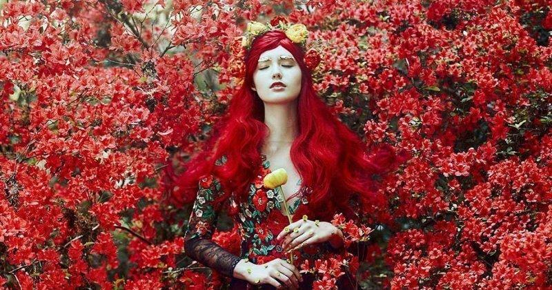 Потрясающие работы фотохудожницы, превращающей девушек в сказочных принцесс (74фото)