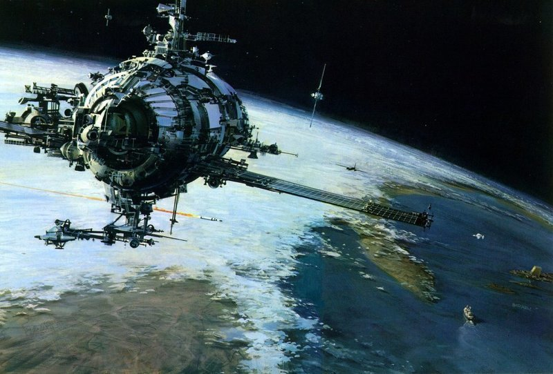 Космические корабли Джона Берки (20фото)