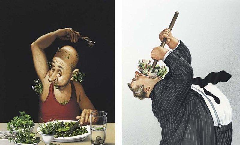 Художник иллюстрирует неудобные истины о нашем обществе, которые заставят вас задуматься (18фото)