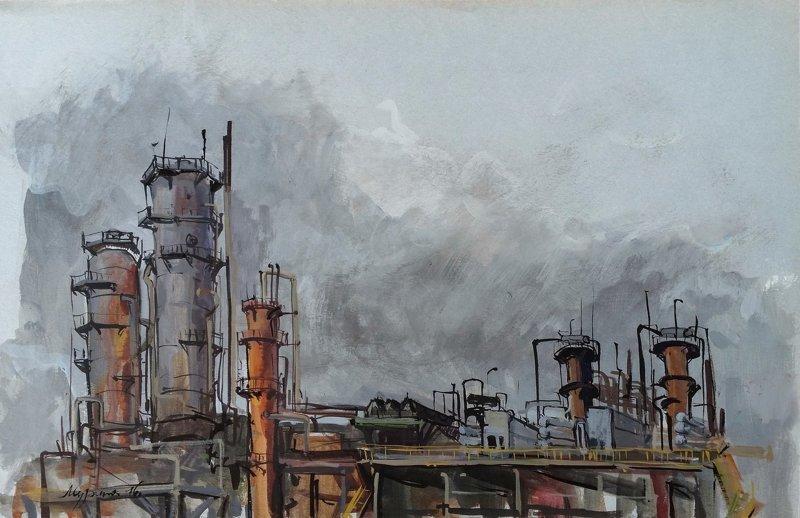 Индустриальные пейзажи (34фото)