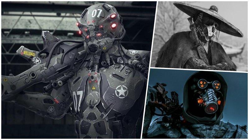 Как будут выглядеть солдаты будущего в представлении художников и дизайнеров (26фото)