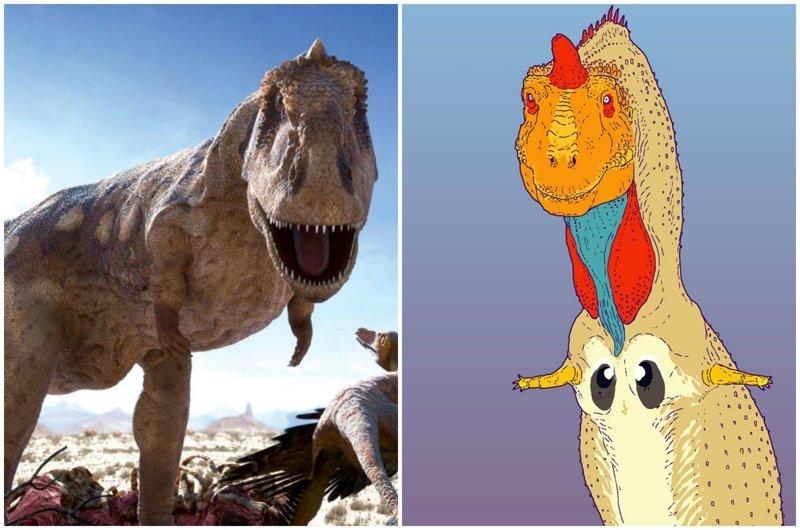 Художник-палеонтолог показал, как на самом деле выглядели динозавры (27фото)
