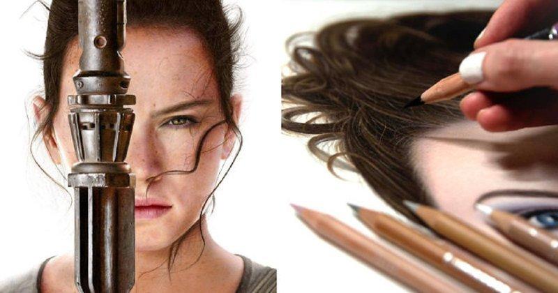 Художница одним карандашом создает настоящие фотопортреты (38фото)