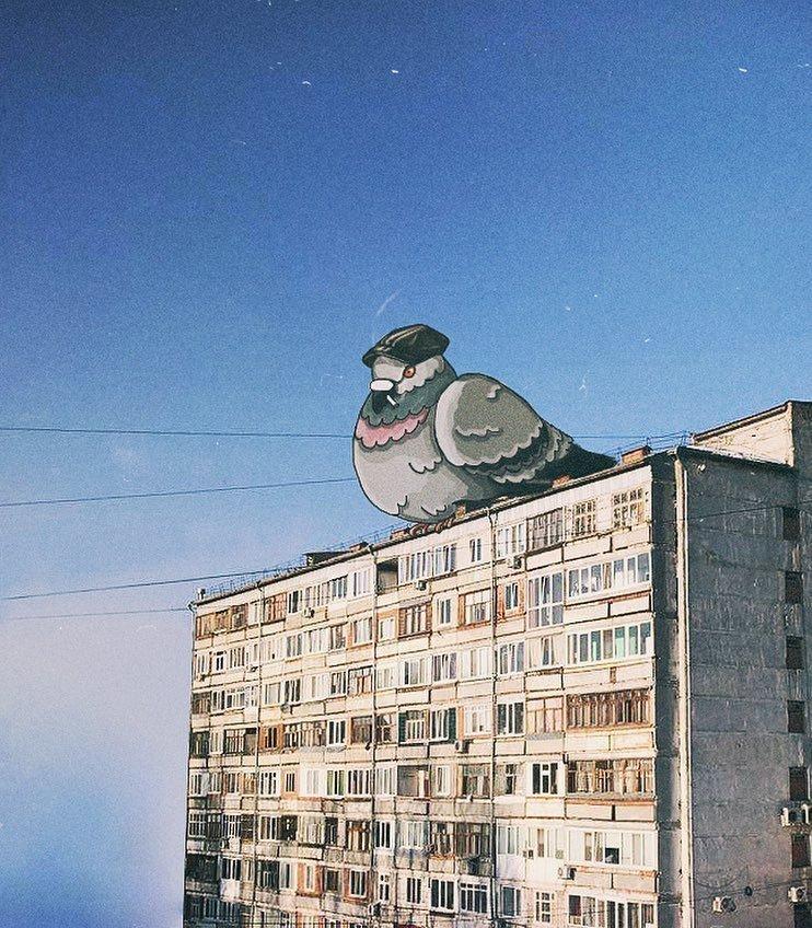 Городские зарисовки, которые вы ещё не видели (32фото)