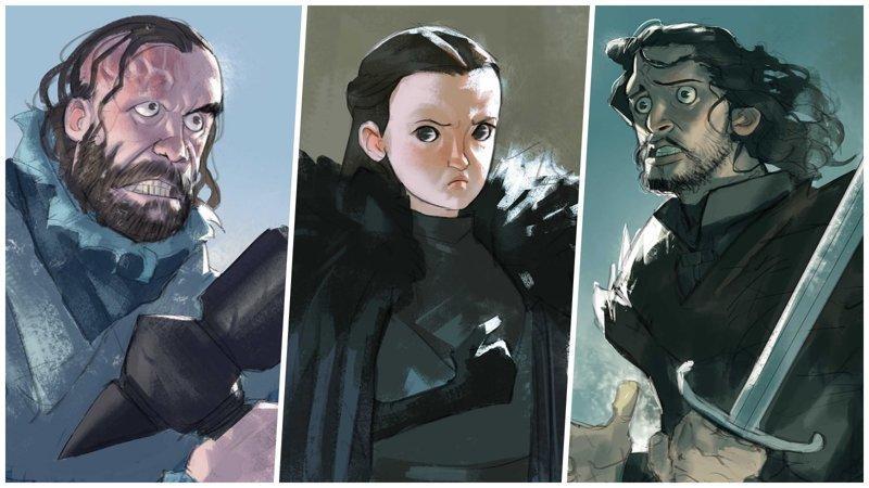 Герои «Игры престолов» от иллюстратора Рамона Нунеза (25фото)