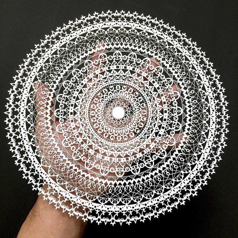 Бумажные кружева от японского мастера (24фото)