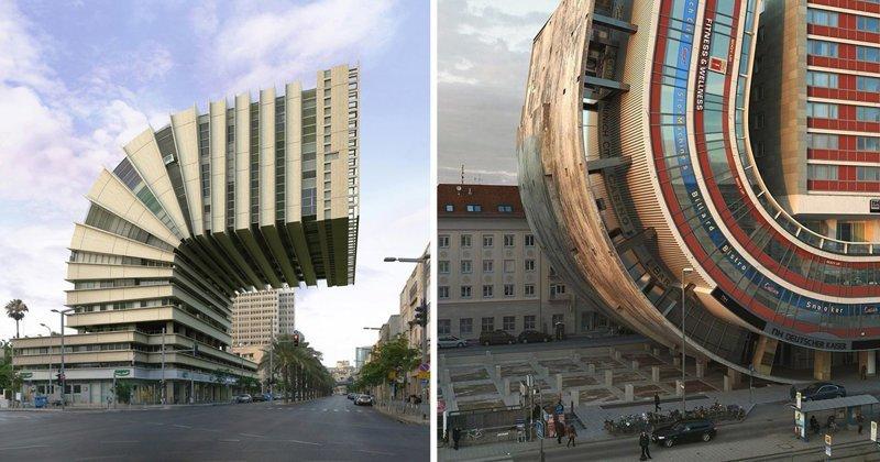 Сумасшедшая архитектура Виктора Энрича (20фото)